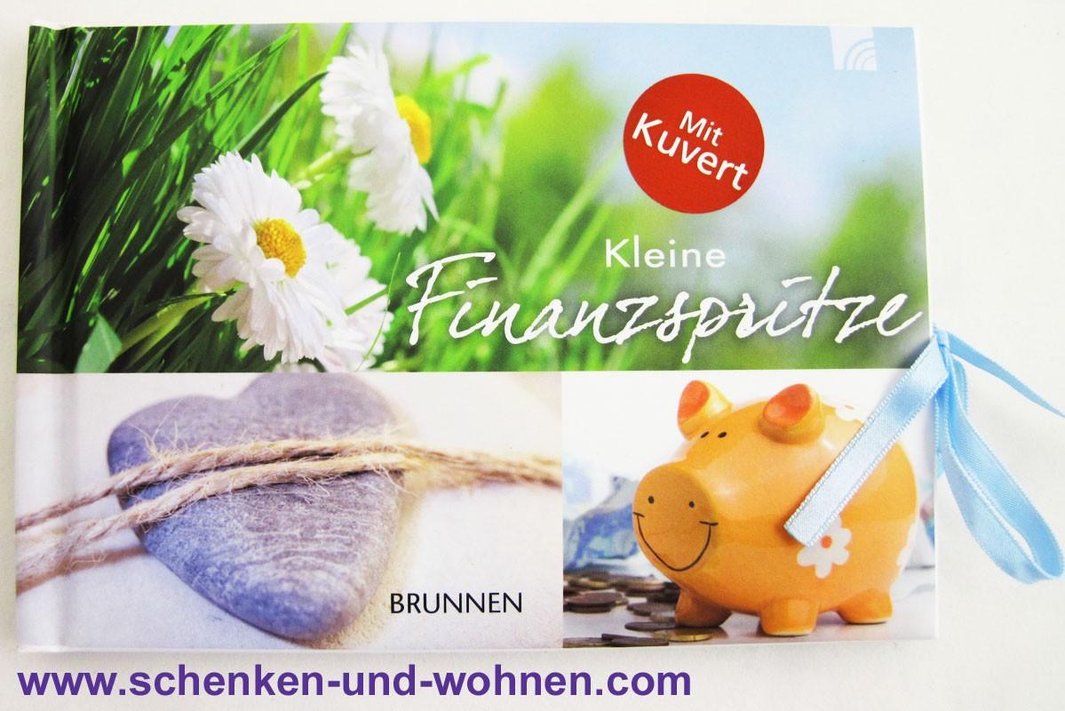 """Gutscheinbuch """"Kleine Finanzspritze"""""""