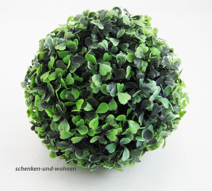 Künstliche Buchsbaumkugel Buxus 18 cm Durchmesser