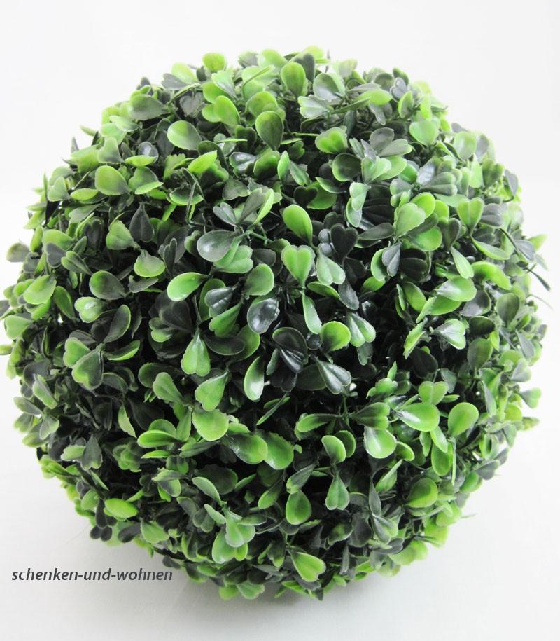 Künstliche Buchsbaumkugel Buxus 23 cm Durchmesser