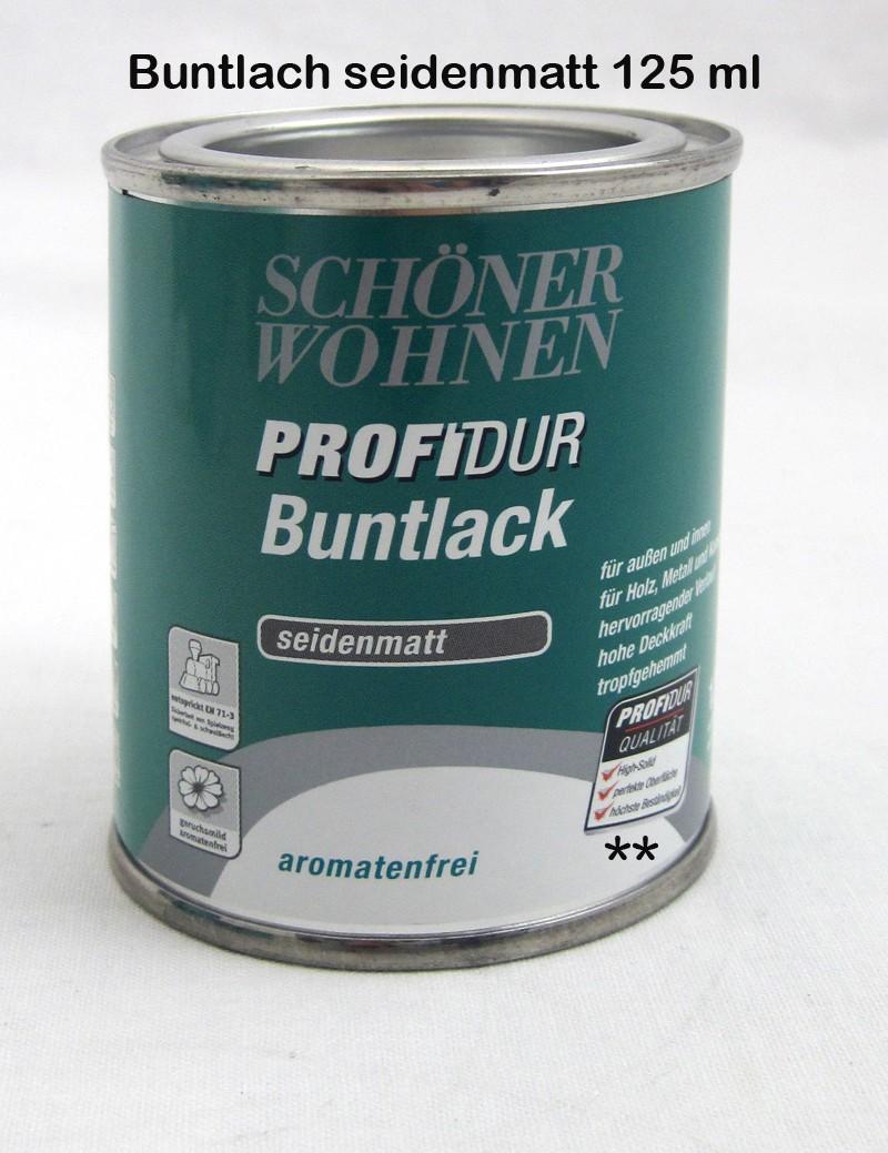 ProfiDur Buntlack - Kunstharzlack, seidenmatt RAL 8017 Schokoladenbraun 0,375 l