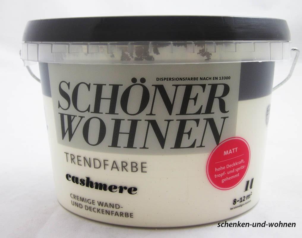 Schöner Wohnen Trendfarben- Cashmere matt -1 l