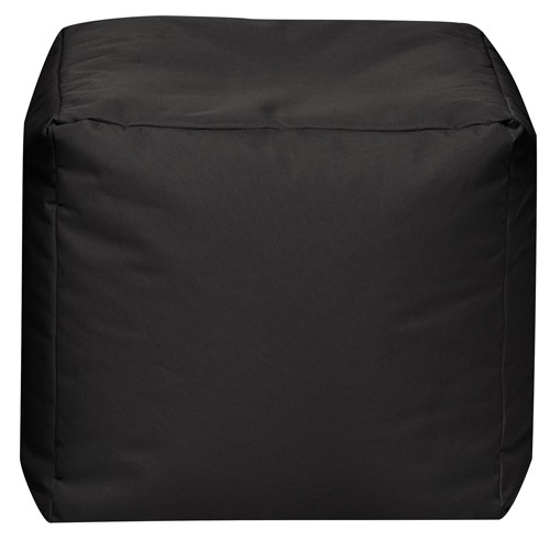 Sitzsack Würfel Cuba SCUBA-01 schwarz 40 x 40 x40 cm