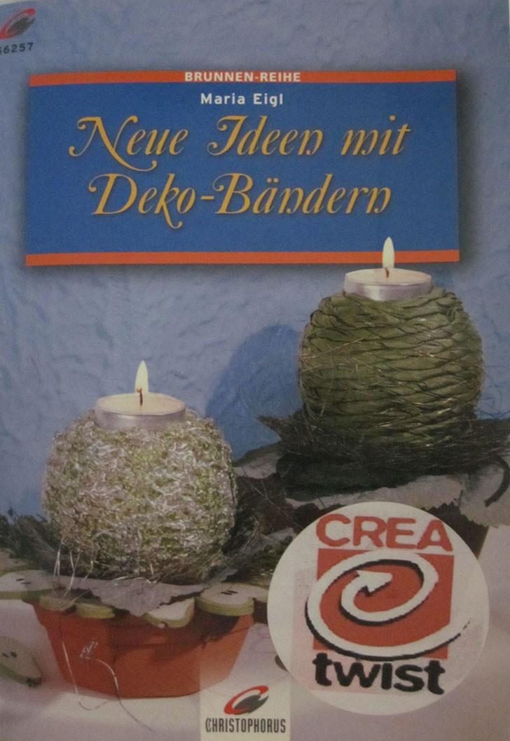 Bastelbuch-Gestalten mit Deko-Bändern