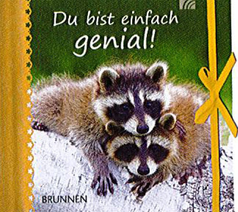 """Miniaturbuch """"Du bist einfach genial"""" ISBN 978-3-7655-1208-7"""