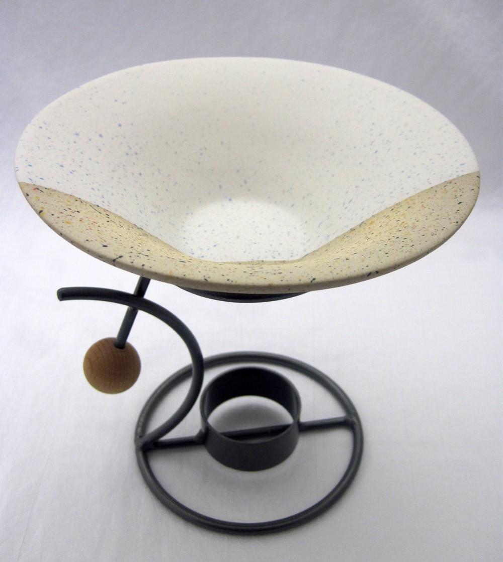 Keramik-Duftlampe ca. 15 x 15 cm