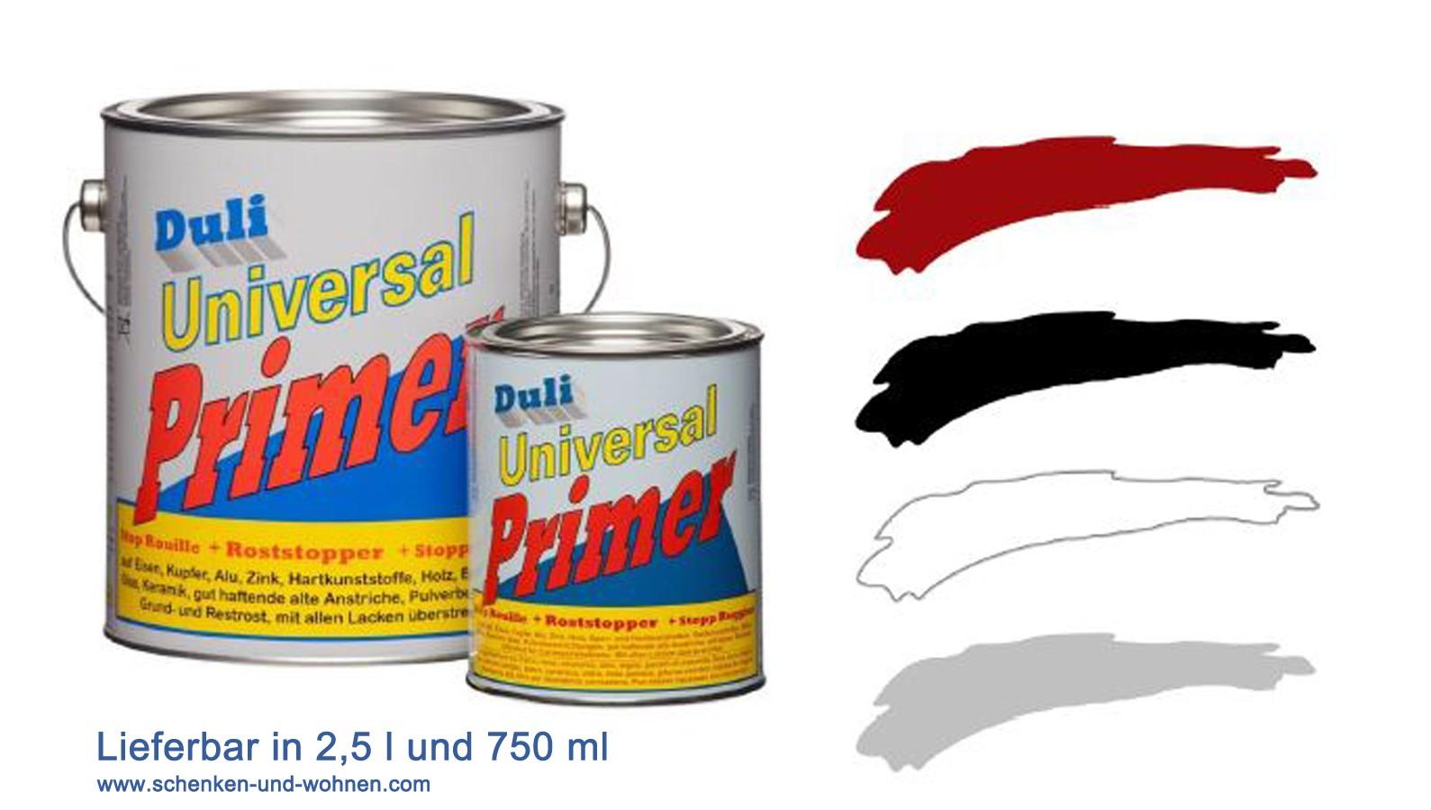 Duli-Universal Primer 2,5 l rotbraun Grund-, Zwischen- und Deckanstrich