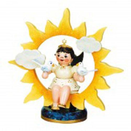 Engel mit Sonne und Tauben 20 cm