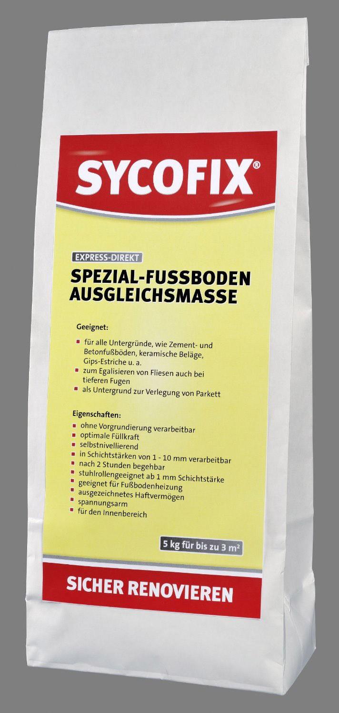 Sycofix - Express-Direkt Spezial Fußboden-Ausgleichsmasse 5 kg
