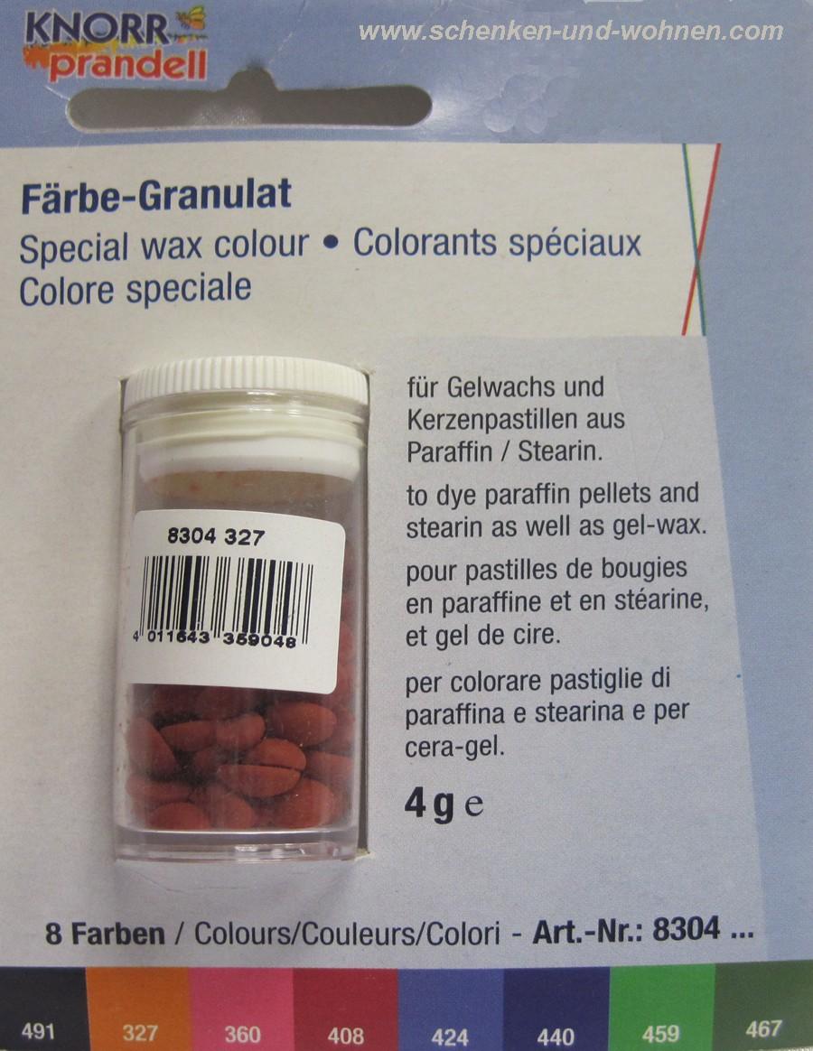 Färbe-Granulat 4 g Farbe 327