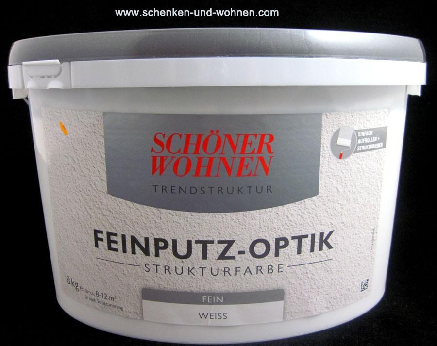 Feinputz-Optik Strukturfarbe fein 8 kg Schöner Wohnen