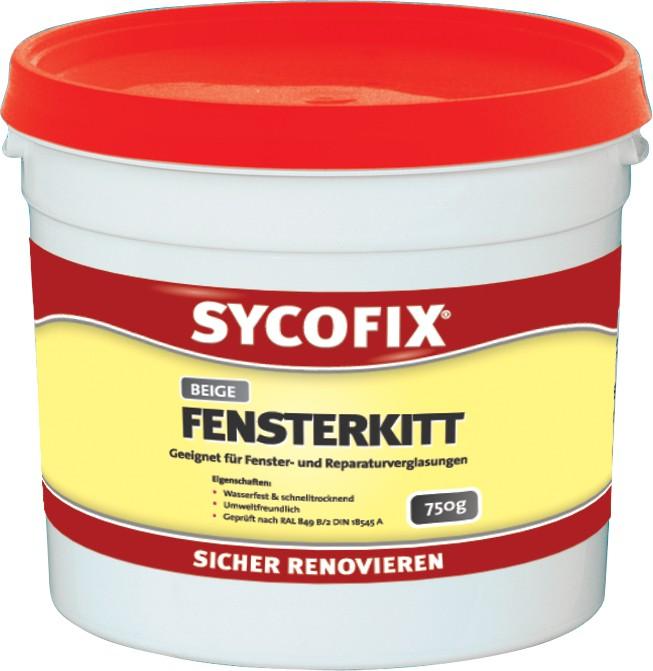 Sycofix -  Fensterkitt beige 750g