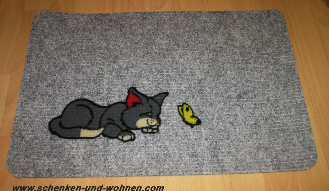 Fußmatte Flocky, Nadelfilz 082 cat ca. 40 x 60 cm