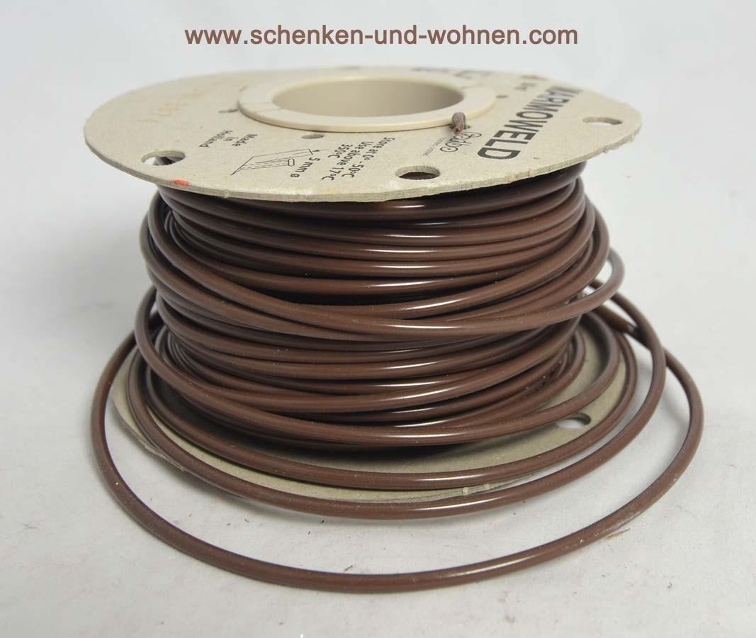 Schmelzdraht Linoleum Fb. Uni-3874 Meterware