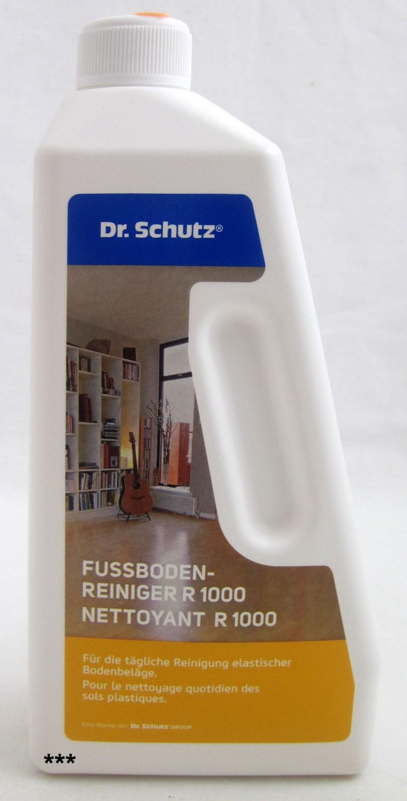 Dr. Schutz Fußbodenreiniger R 1000 750 ml