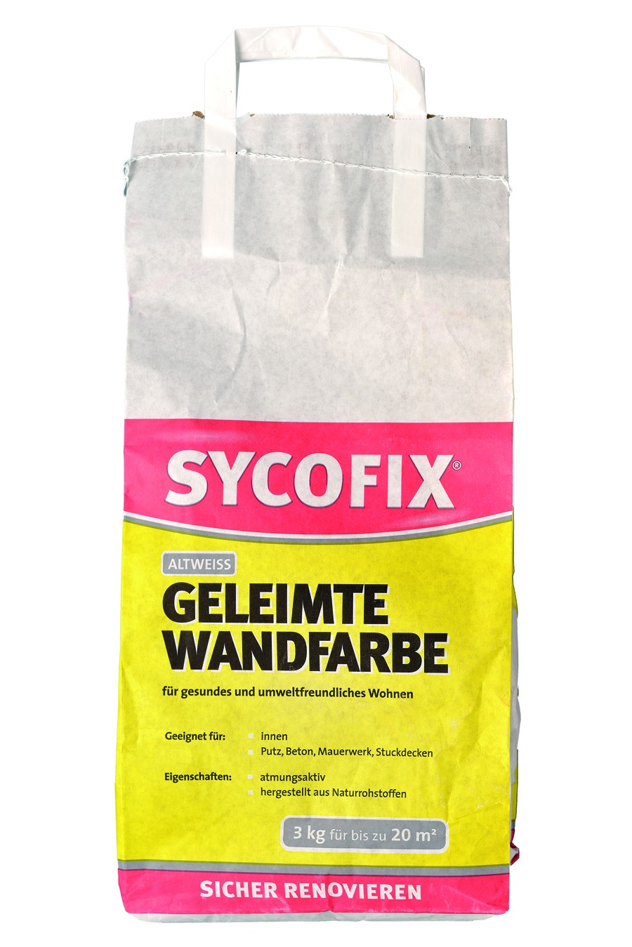 Sycofix - Geleimte Wandfarbe 3kg