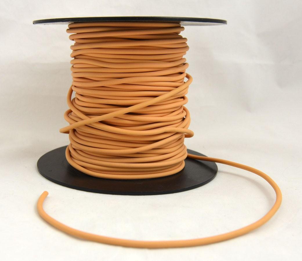 Schweißschnur 4 mmx5m PVC Orange 2131 CR40 Meterware