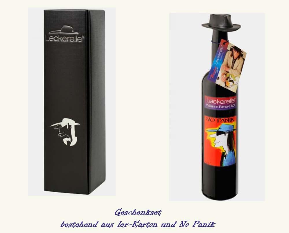 """Leckerelle® Geschenk-Set """"No Panik""""  500 ml ,1er"""""""