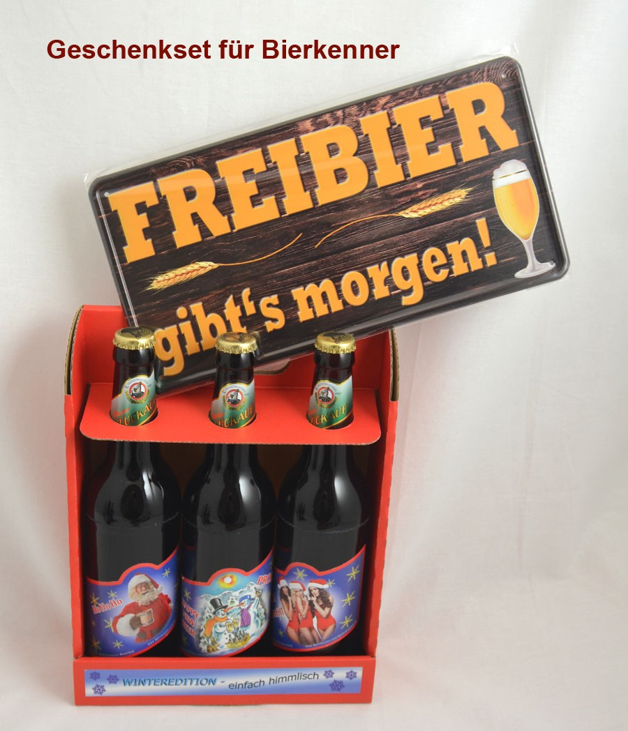 Geschenk-Set für Bierkenner