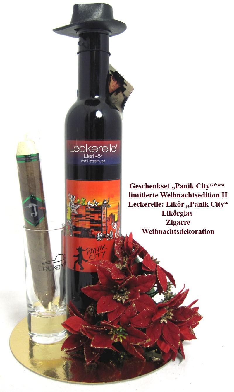 Geschenkset Leckerelle Eierlikör mit Haselnuss 350ml, limitierte Weihnachtsedition II