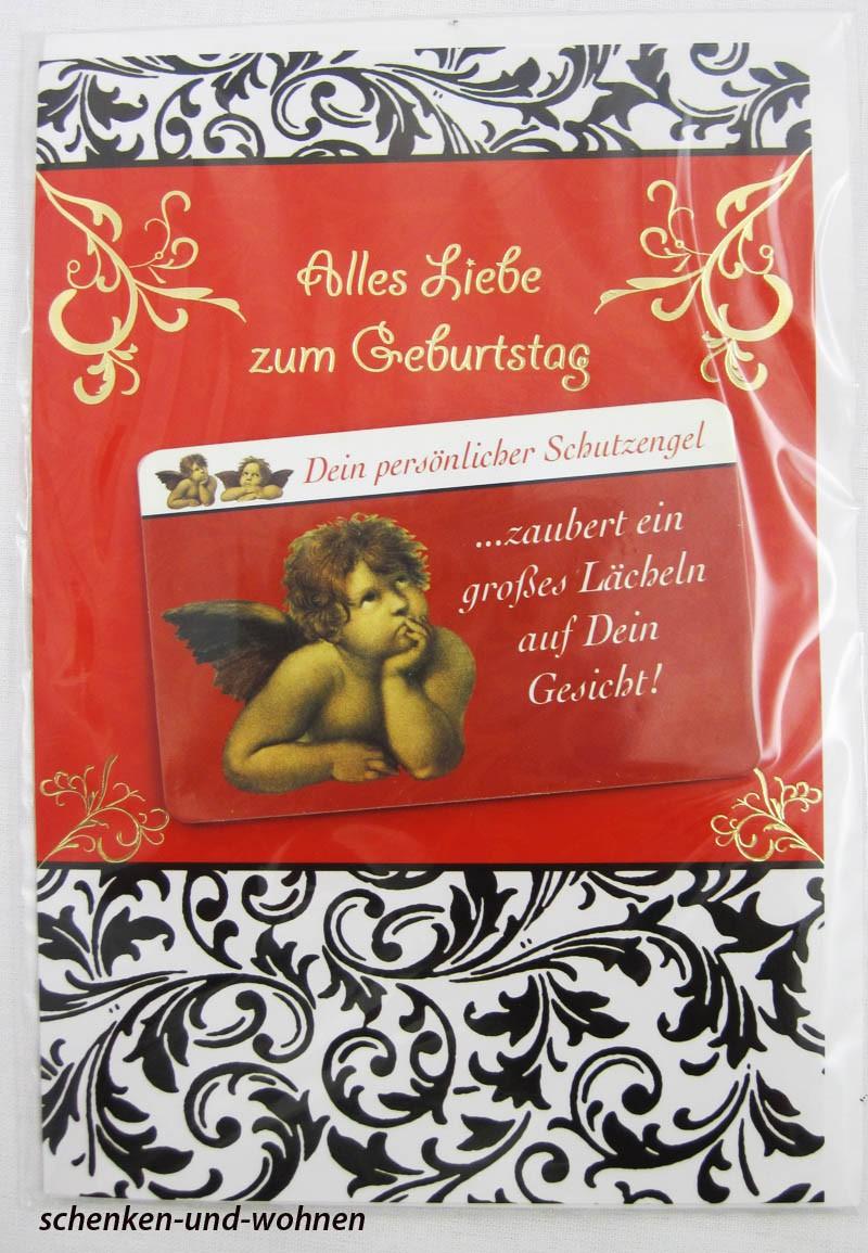 Geburtstagskarte Glückwunschkarte mit Schutzengelmotiv 51-4408