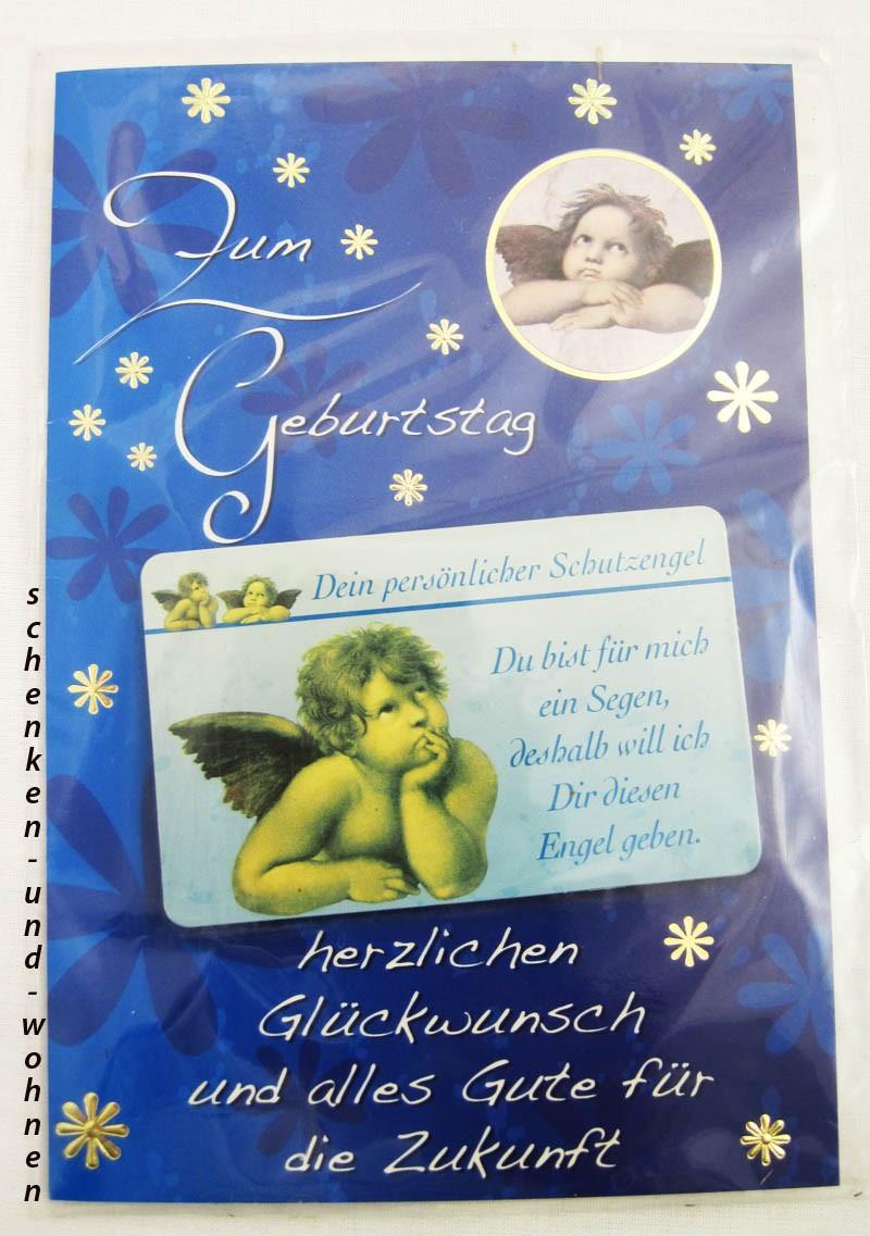 Geburtstagskarte Glückwunschkarte mit Schutzengelmotiv 51-4410