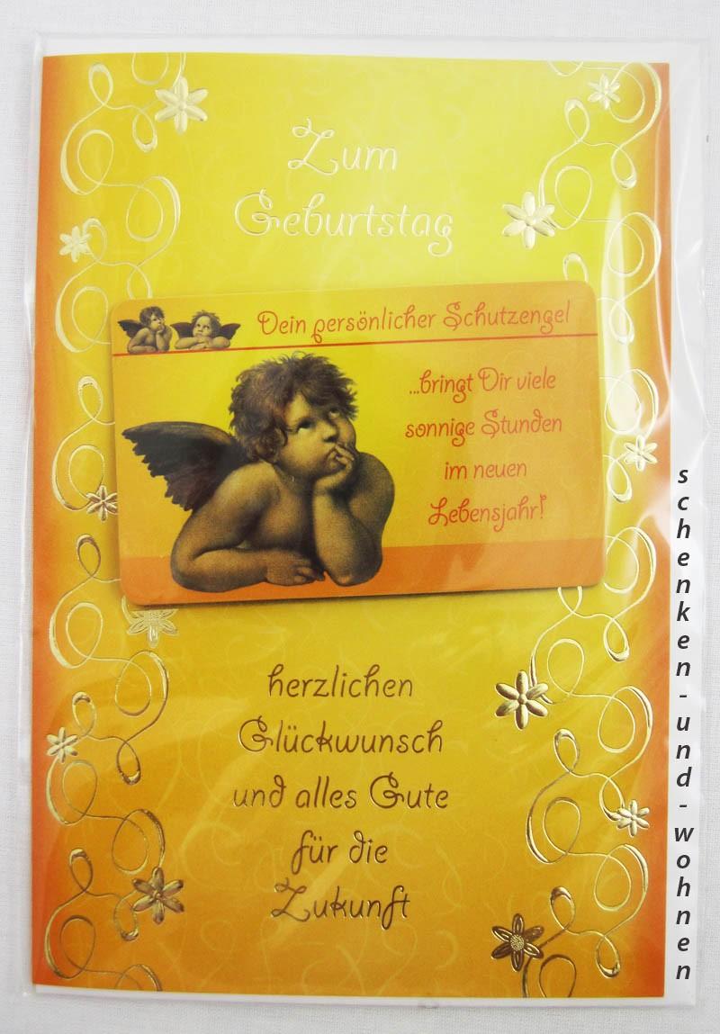 Geburtstagskarte Glückwunschkarte mit Schutzengelmotiv 51-4436