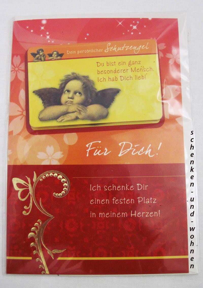 Geburtstagskarte Glückwunschkarte mit Schutzengelmotiv 51-4446 - Für Dich -