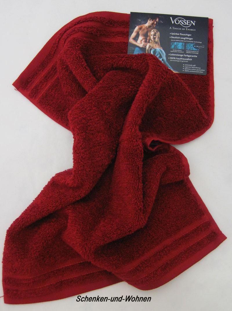 Handtuch, Gästehandtuch Calypso Feeling Rubin ca. 30 x 50 cm
