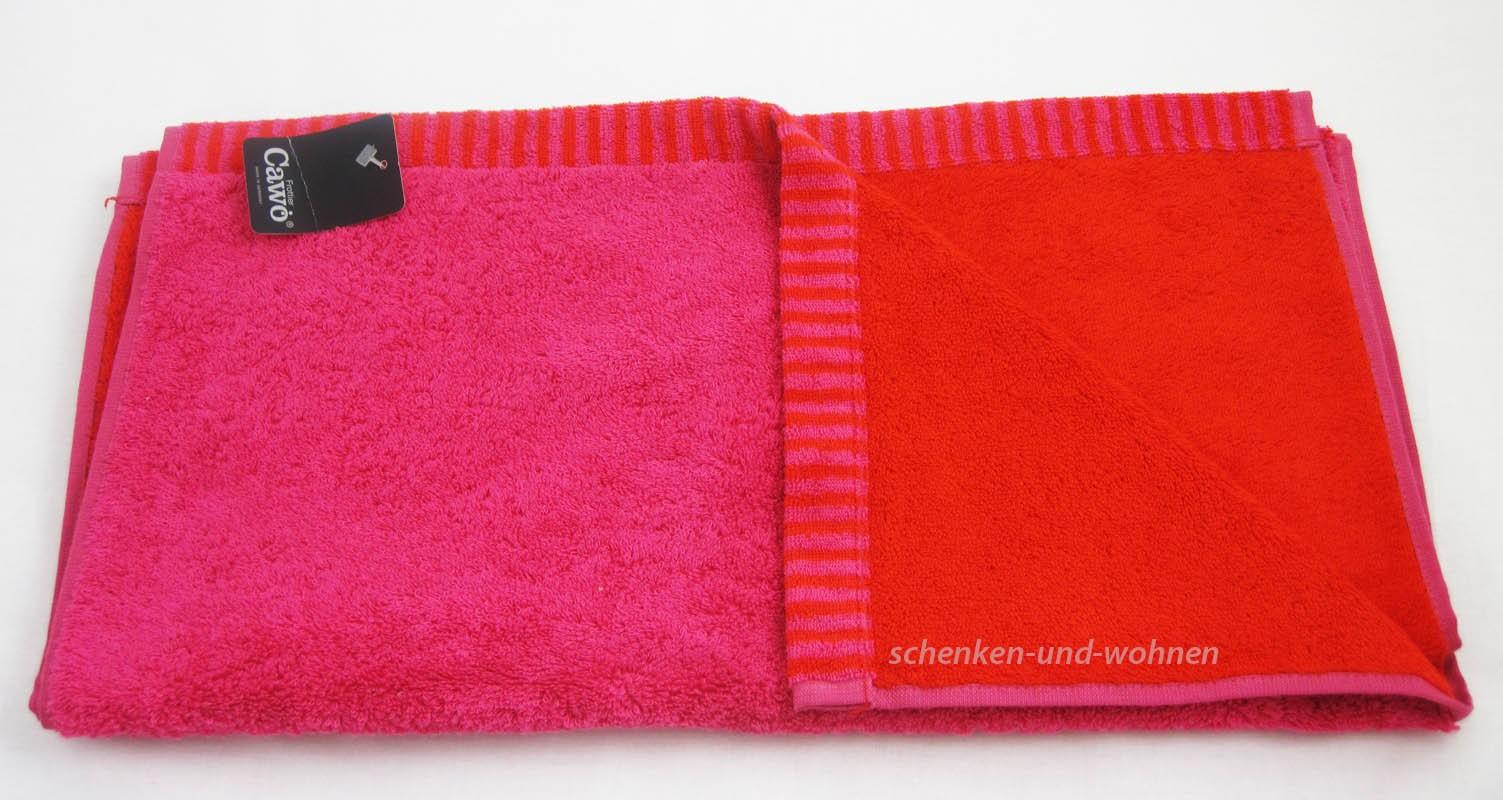 Handtuch 7044 unifarben Fb. 22 Pink ca. 50 x 100 cm