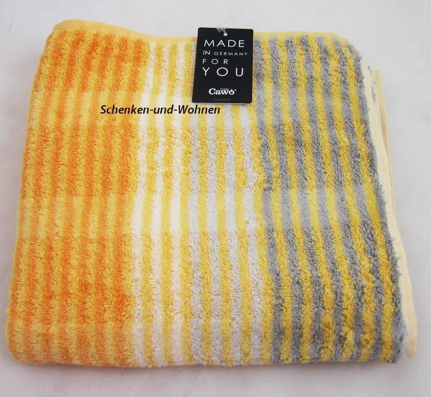 Handtuch Noblesse Cashmere Streifen, Melba ca. 50 x 100 cm