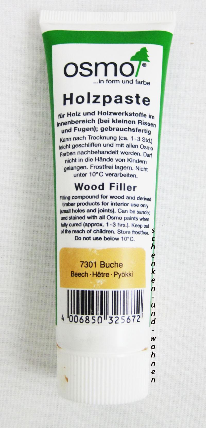 Osmo Holzpaste 7301 Buche 100 g