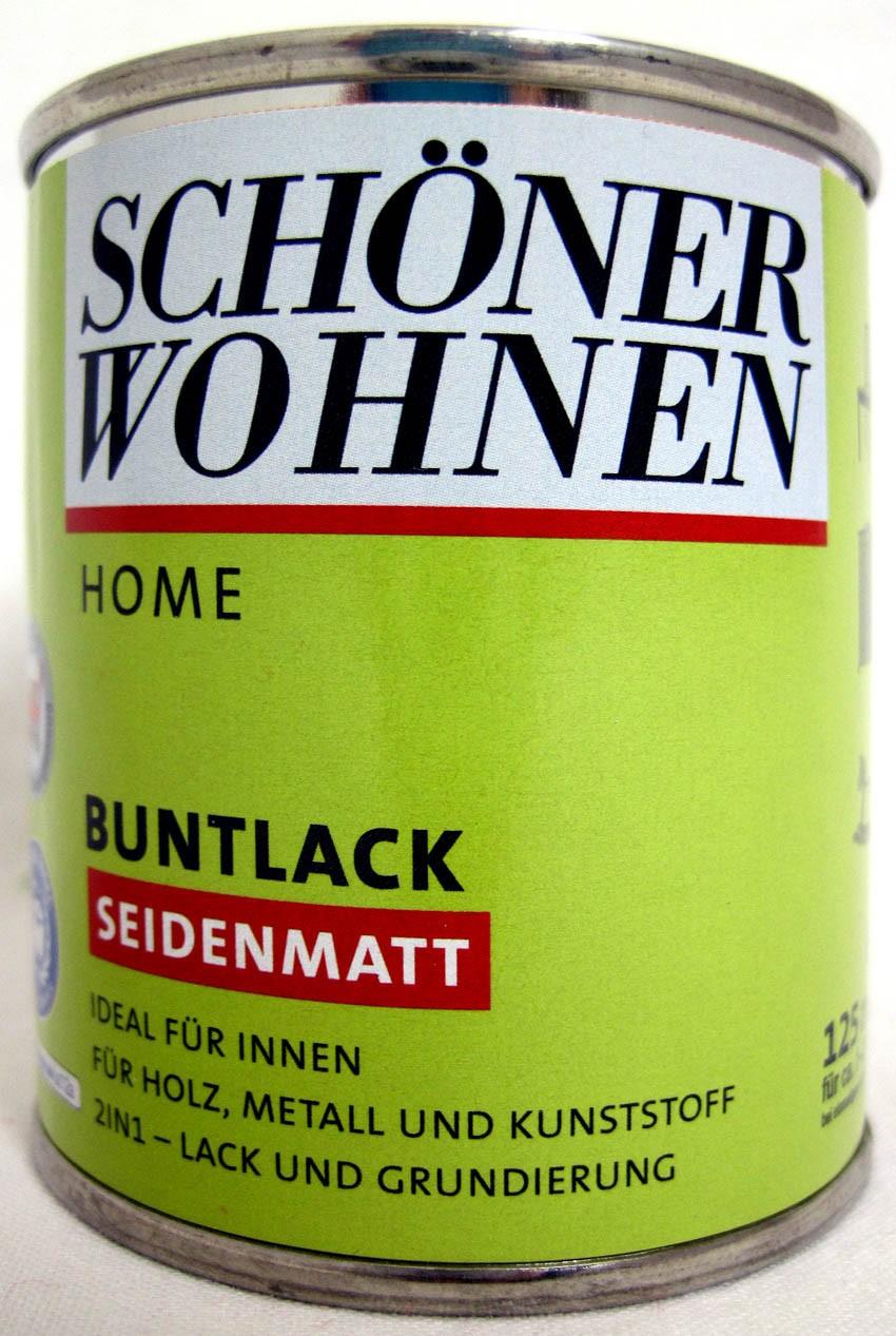 Home Buntlack - Acryllack, seidenmatt, Fb.-Nr.: 0096 Altweiß, 125 ml