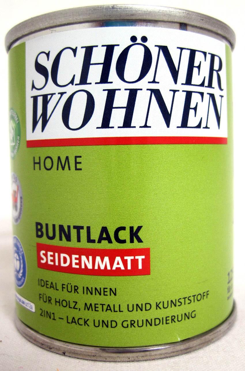 Home Buntlack - Acryllack, seidenmatt, RAL 9001 cremeweiß, 125 ml