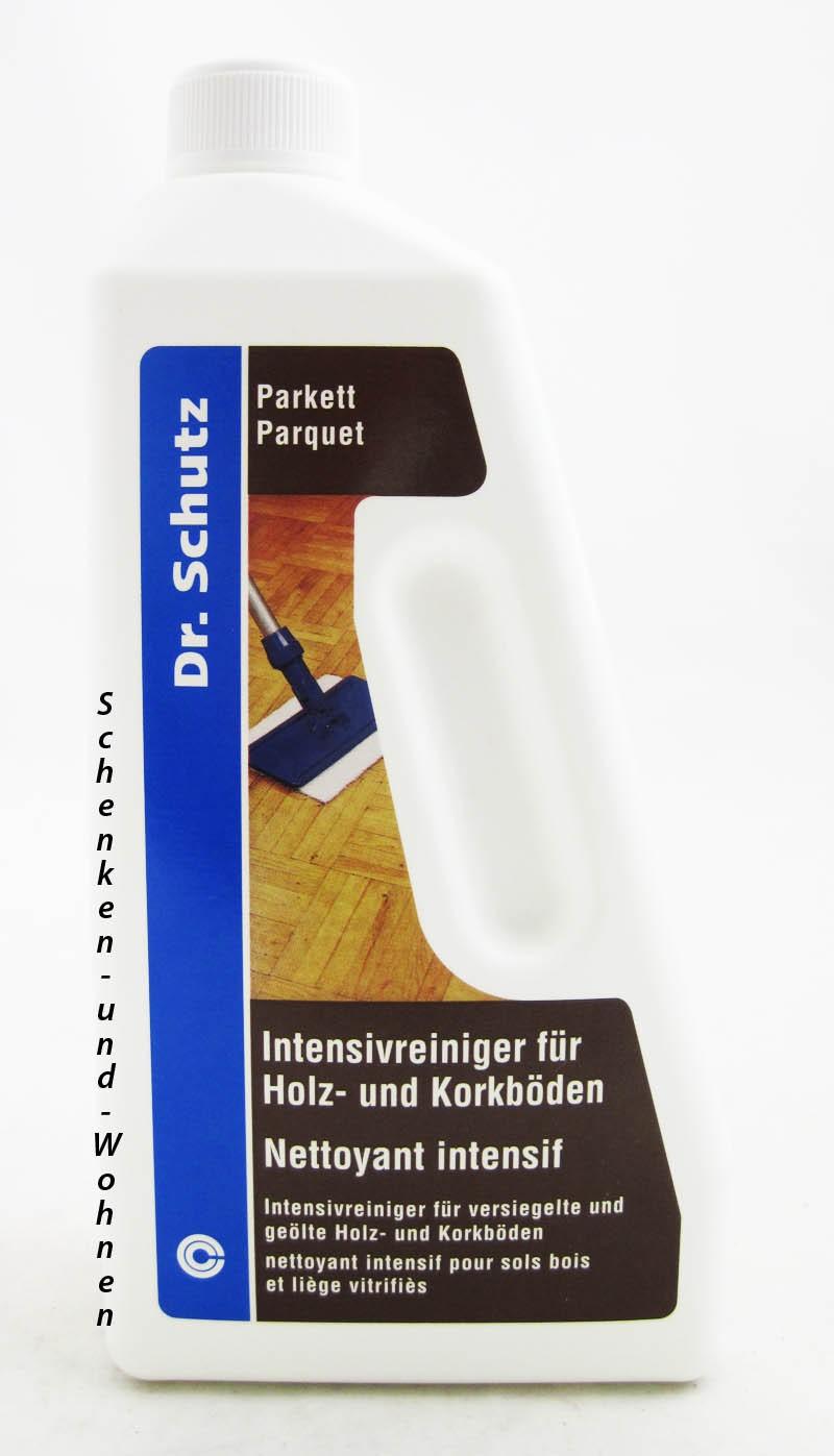 Dr. Schutz Intensivreiniger für Holz- und Korkböden 750 ml