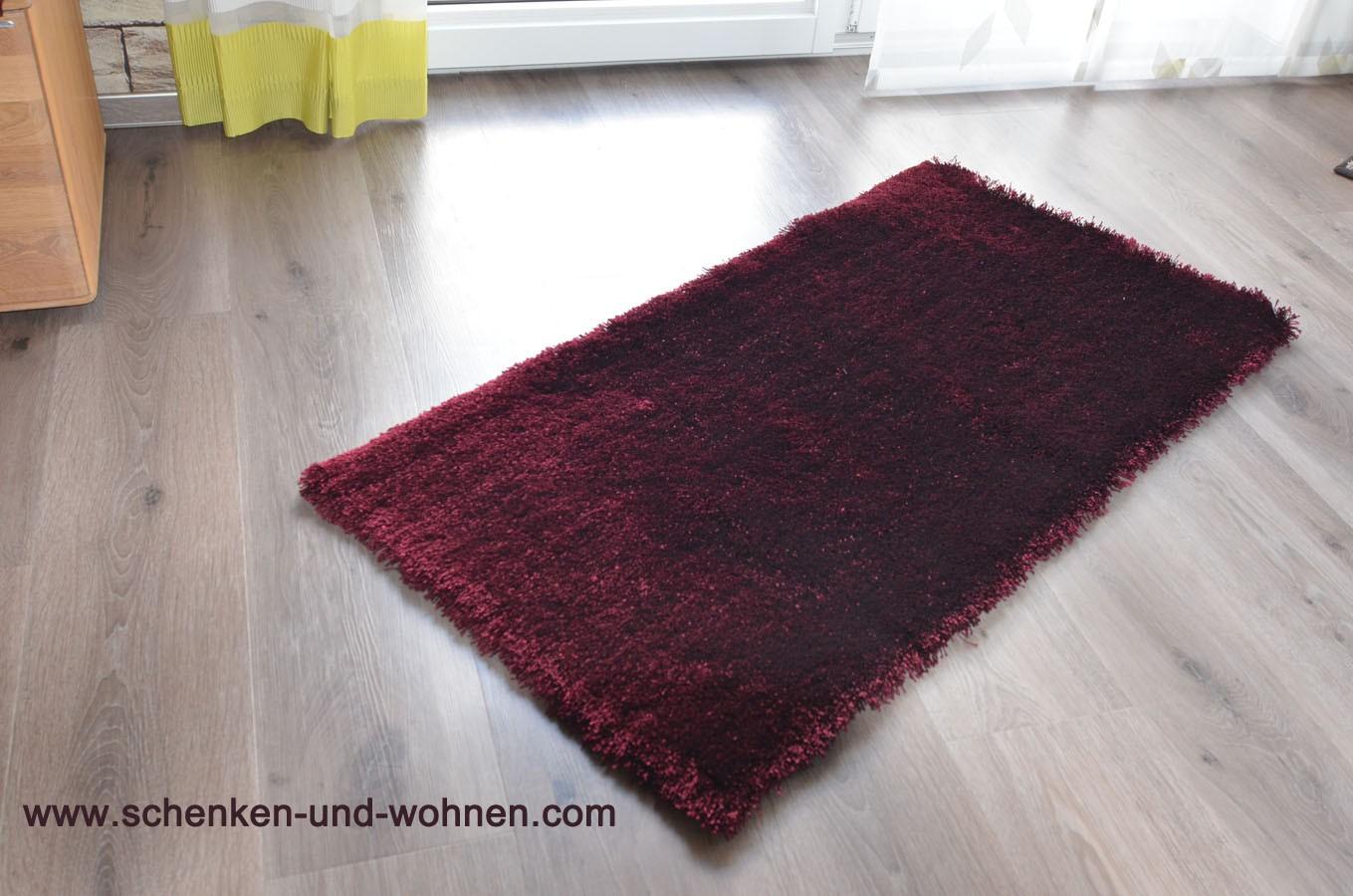 JOOP - Teppich Curly purple, getuftet 70 x 140 cm