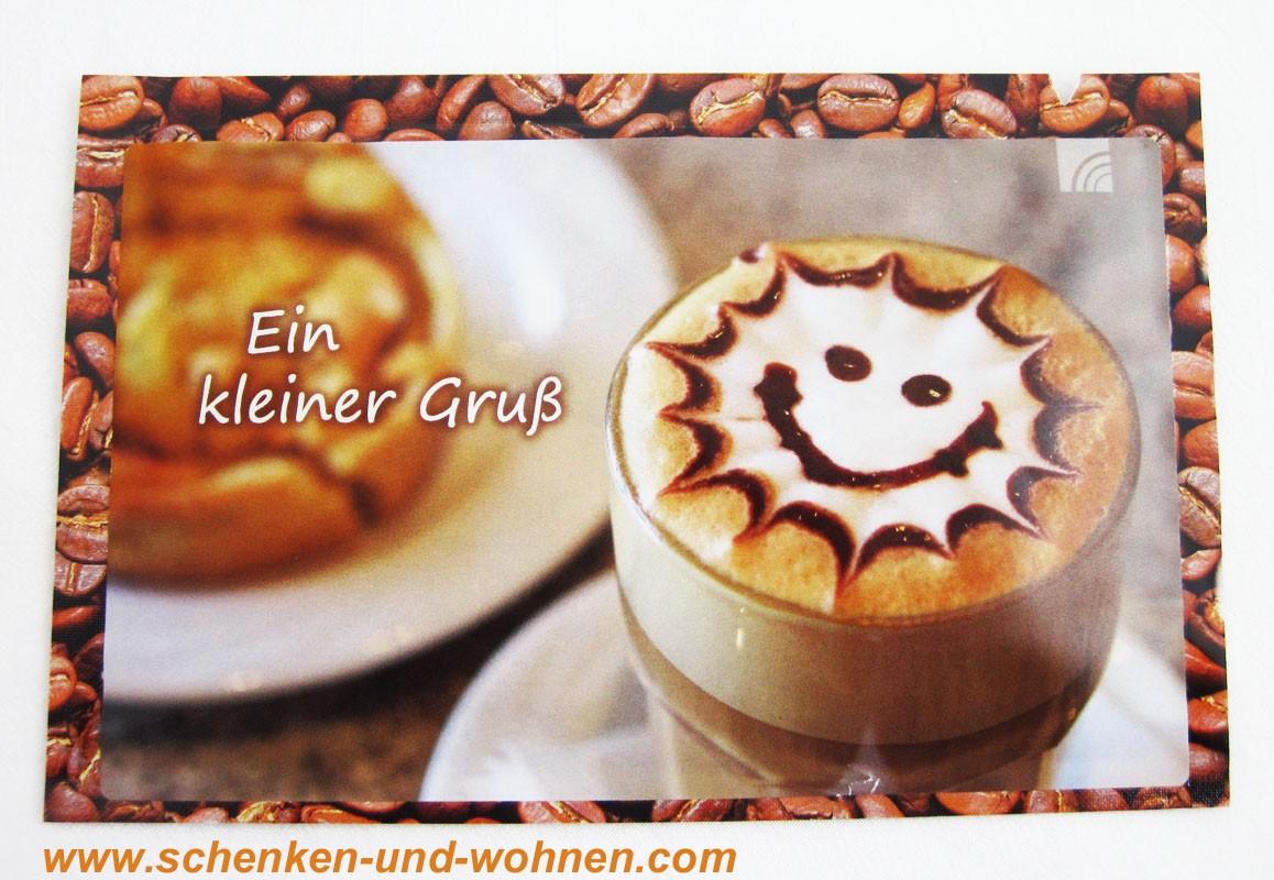 """Kaffeekarte """" Ein kleiner Gruß """" 20 g"""