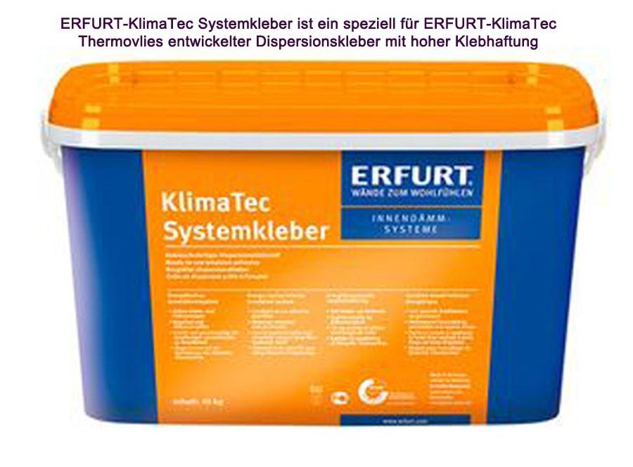 KlimaTec Systemkleber für Thermovlies 10 kg