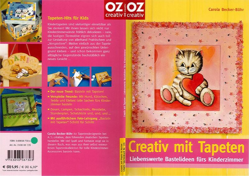 """Bastelbuch """"Creativ mit Tapeten"""""""