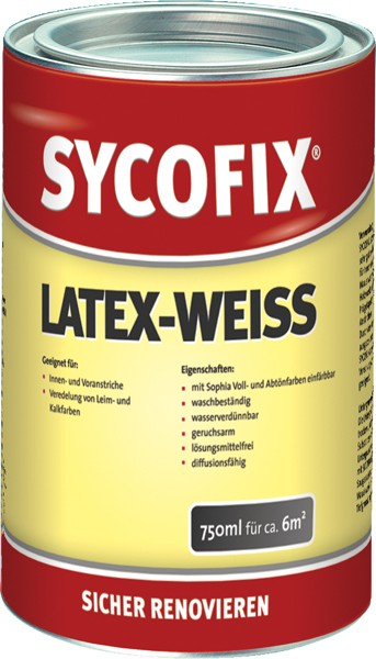 Sycofix - Latex weiß 750ml