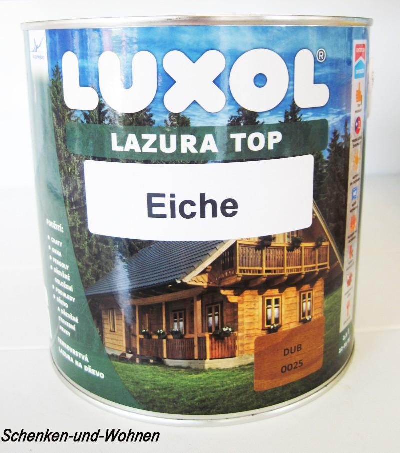 Luxol Lazura Top-eiche-2,5 l