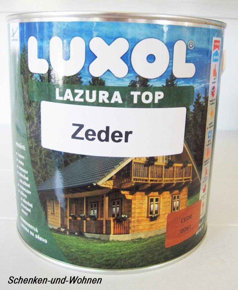 Luxol Lazura Top-zeder-2,5 l