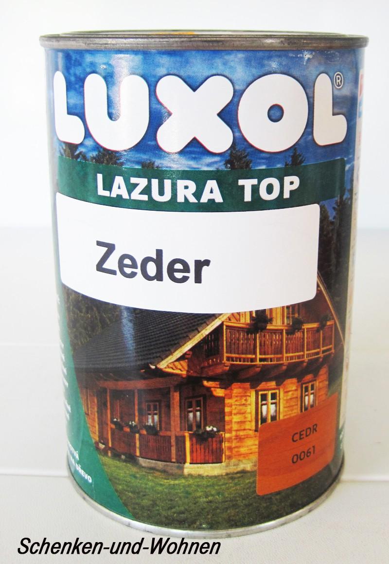 Luxol Lazura Top-zeder-900 ml