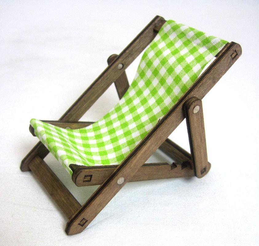 Kuhnert - Liegestuhl für Mini Eulen - Neuheit 2021 ca. 8cm