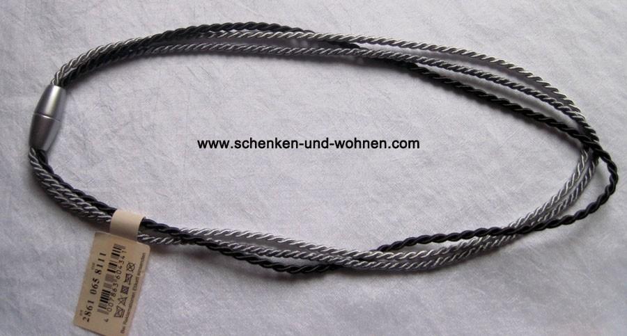 Raffhalter mit Magnetverschlusss 64/32 cm Grautöne Fb. 8111