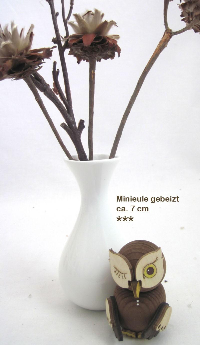 Kuhnert - Minieule gebeizt - Neuheit 2018 ca. 7 cm