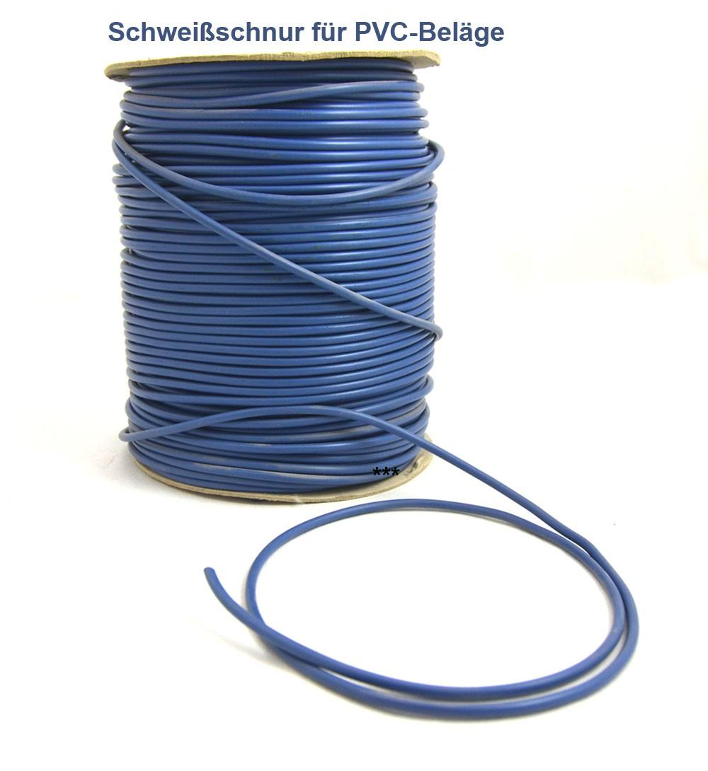 Schweißschnur 4 mmx5m PVC Farbe 63050 Meterware