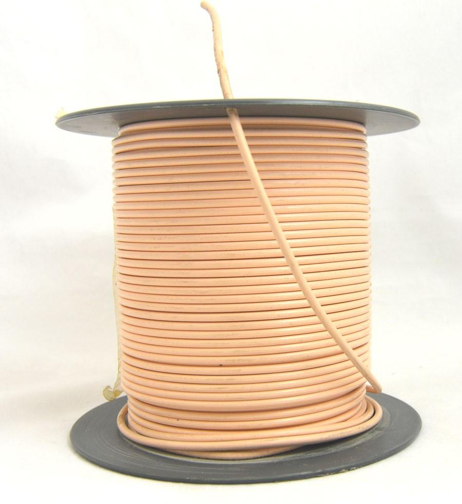Schweißschnur 4 mmx5m PVC 66610 blassorange Meterware