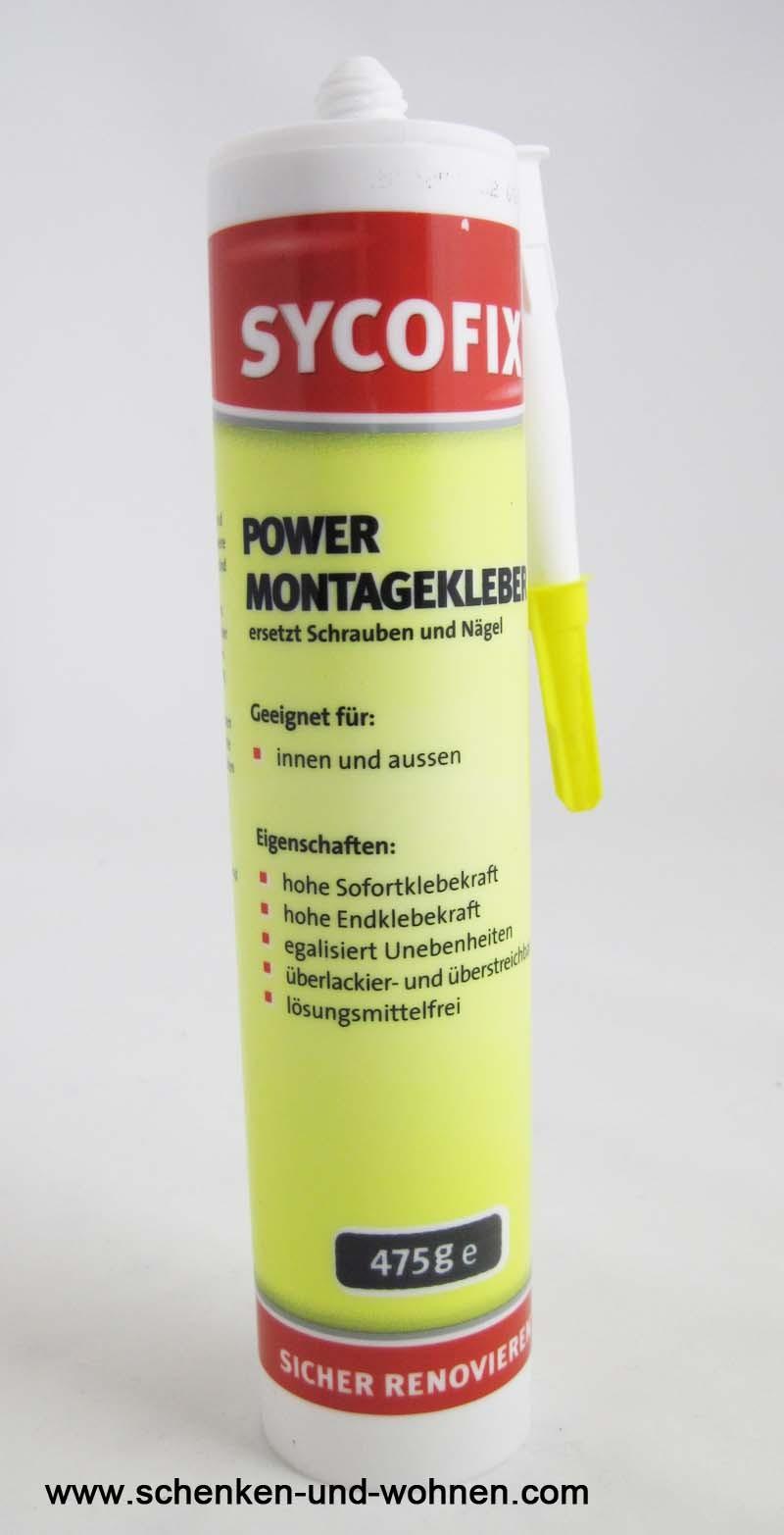 Sycofix - Power Montagekleber 475g
