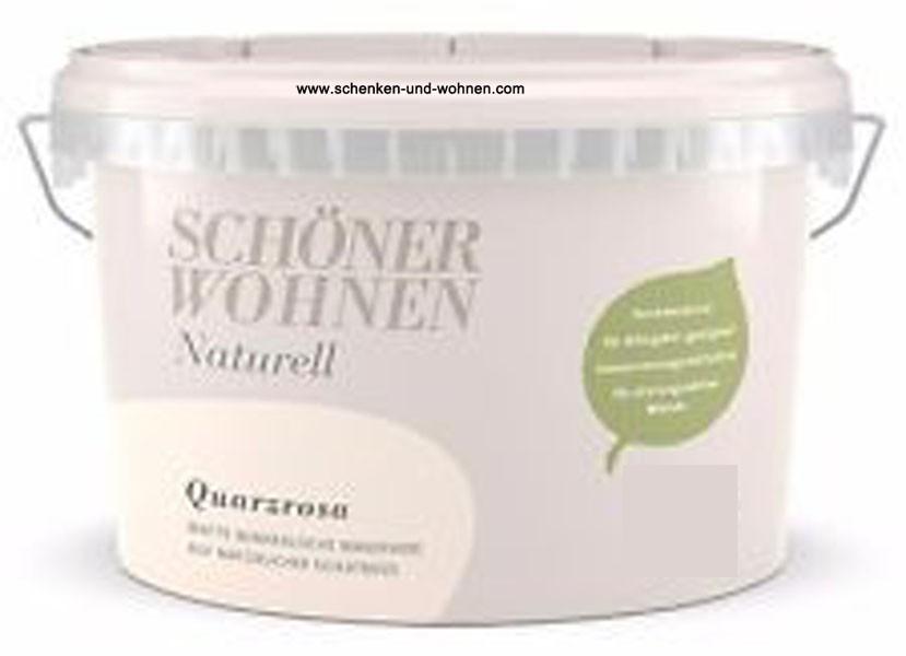Schöner Wohnen Mineral-Wandfarbe Quarzrosa 2,5 l