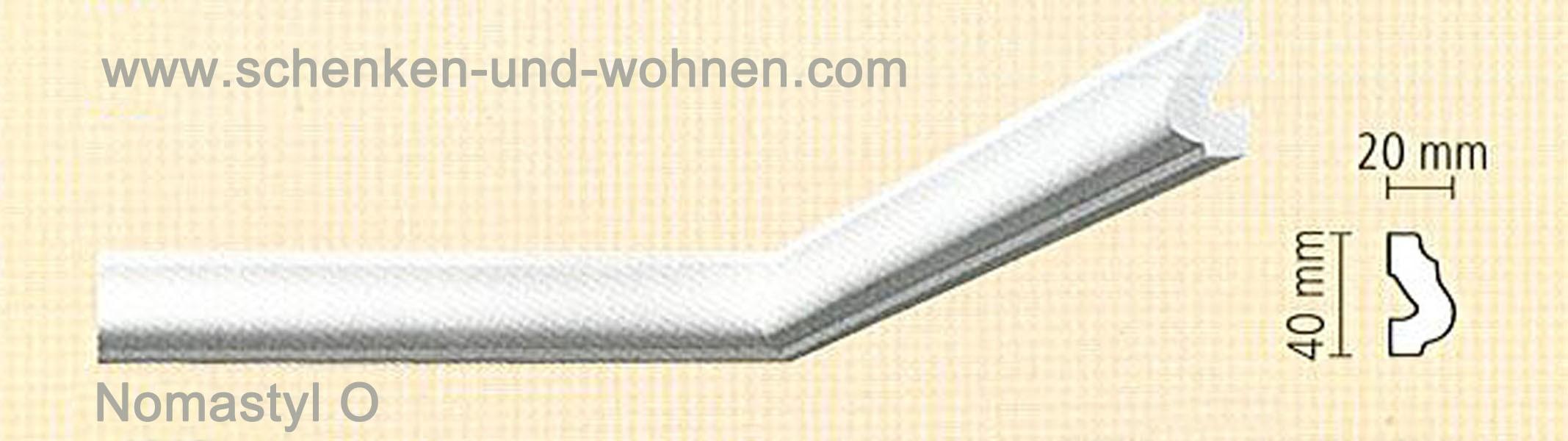 Nomastyl Flachprofil O 2m